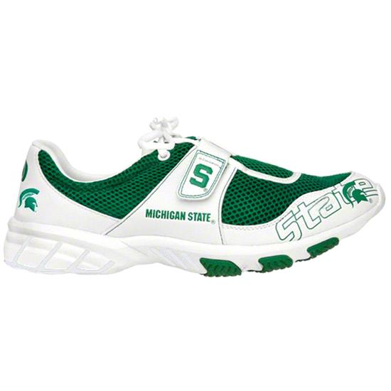 Michigan State Spartans Rave Ultra Light Gym Shoes