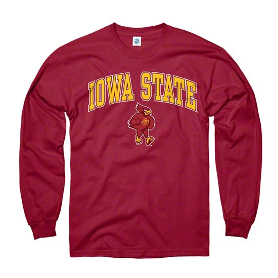 Iowa State Cyclones Cardinal Perennial II Long Sleeve T-Shirt