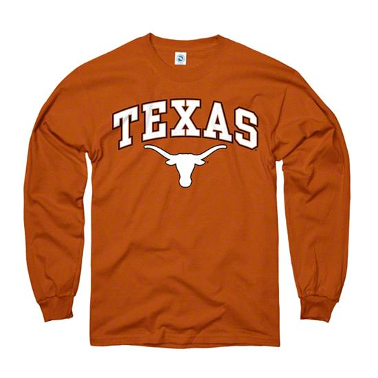 Texas Longhorns Dark Orange Perennial II Long Sleeve T-Shirt