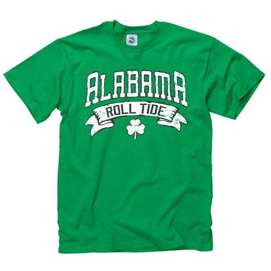 Alabama Crimson Tide Marauder St. Patty's Day T-Shirt