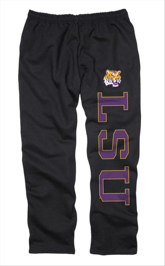 LSU Tigers Black Couch Island Sweatpants