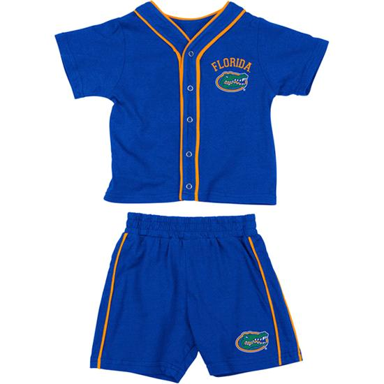 Florida Gators Royal Infant Outfield T-shirt and Shorts Set