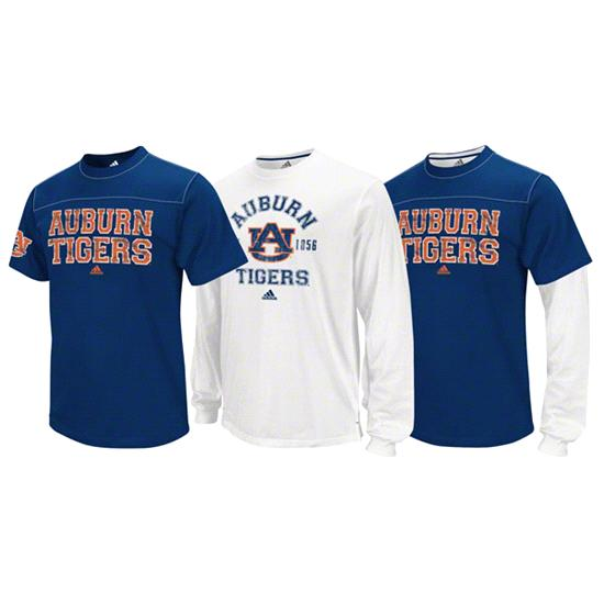 Auburn Tigers adidas 3-In-1 T-Shirt Combo Pack