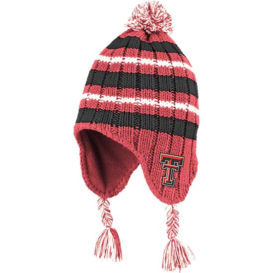 Texas Tech Red Raiders Infant Red Iceberg Beanie Hat