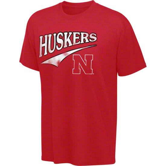 Nebraska Cornhuskers Red Tailsweep T-Shirt