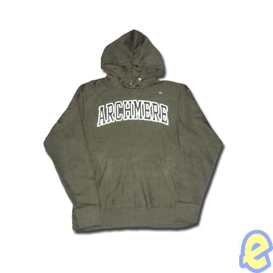 Archmere Appliqued Arch Hoody Hunter Green