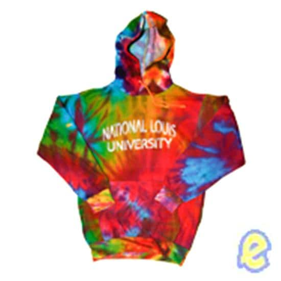 NLU Classic Tie Dye Hoodie