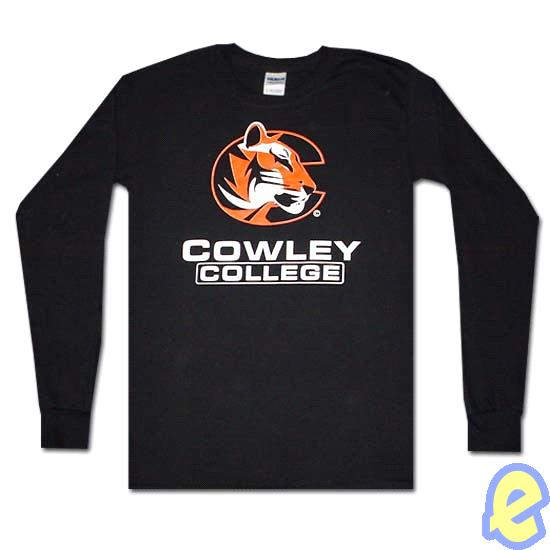 Cowley College Black Long Sleeve T-Shirt