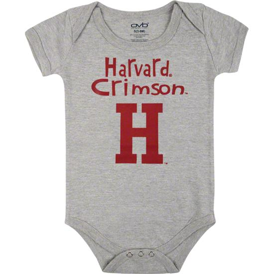 Harvard Crimson Infant Grey Little One Creeper