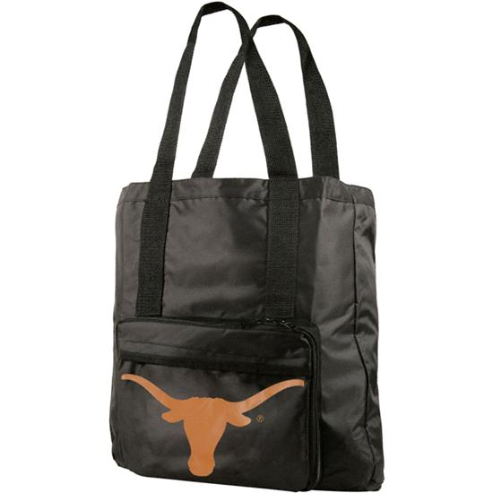 Texas Longhorns Fold-Away Tote Bag Travel Pack