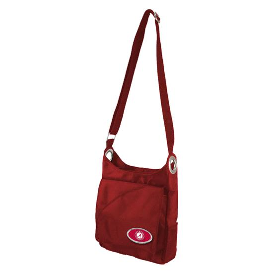 Alabama Crimson Tide Grommet Cross Body Purse