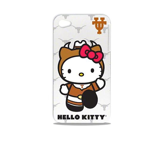 Texas Longhorns Hello Kitty iPhone 4/4S Hard Shell Case