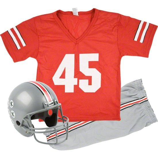 Ohio State Buckeyes Kids/Youth Football Helmet and Uniform Set
