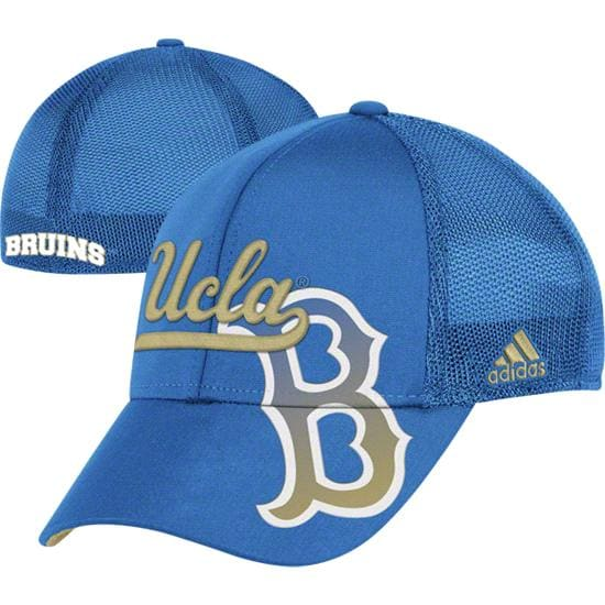 UCLA Bruins adidas Laser Cut Flex Hat