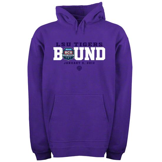 LSU Tigers National Championship Game Bound Hooded Sweatshirt
