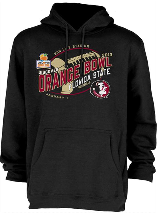Florida State Seminoles 2013 Orange Bowl Bound Hooded Sweatshirt