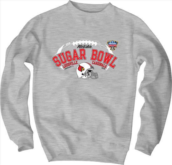 Louisville Cardinals Sugar Bowl Bound Crewneck Sweatshirt