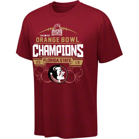 Florida State Seminoles 2013 Orange Bowl Champions T-Shirt
