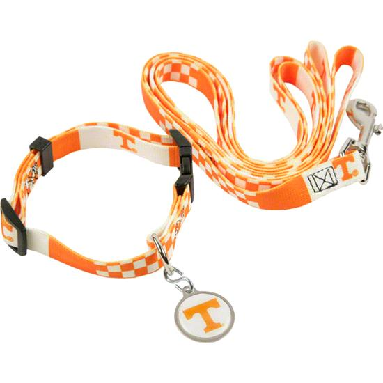 Tennessee Volunteers Dog Collar & Leash Set