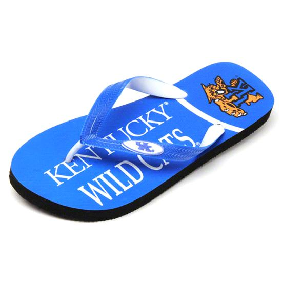 Kentucky Wildcats Zori Flip Flops