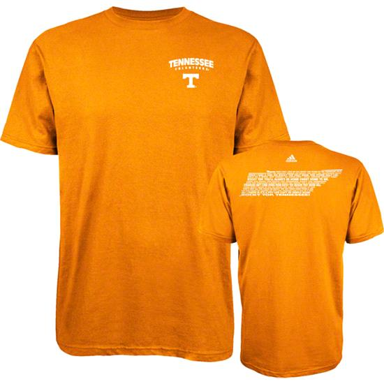 Tennessee Volunteers Light Orange adidas Fight Fight Fight T-Shirt