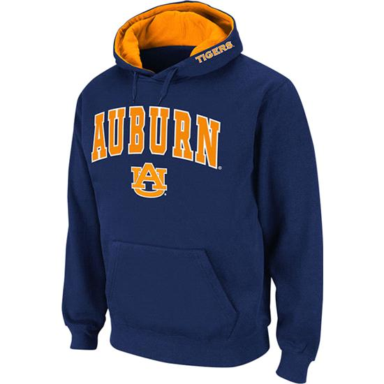 Auburn Tigers Navy Twill Tailgate Hooded Sweatshirt