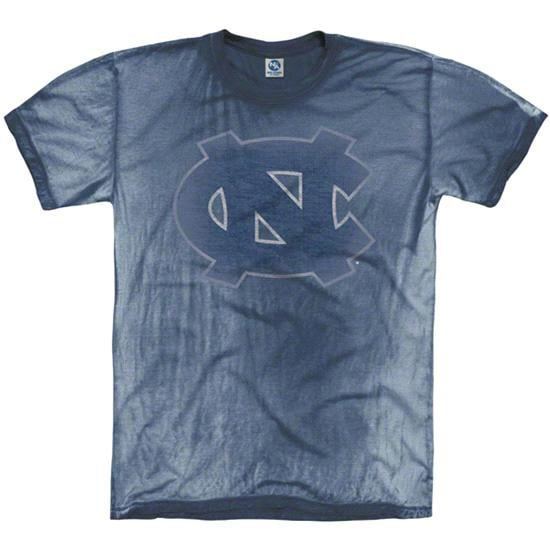 North Carolina Tar Heels Navy Fade Out Mix Washed T-Shirt