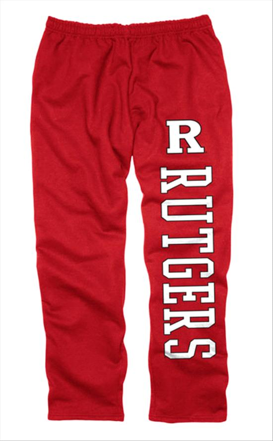 Rutgers Scarlet Knights Red Couch Island Sweatpants