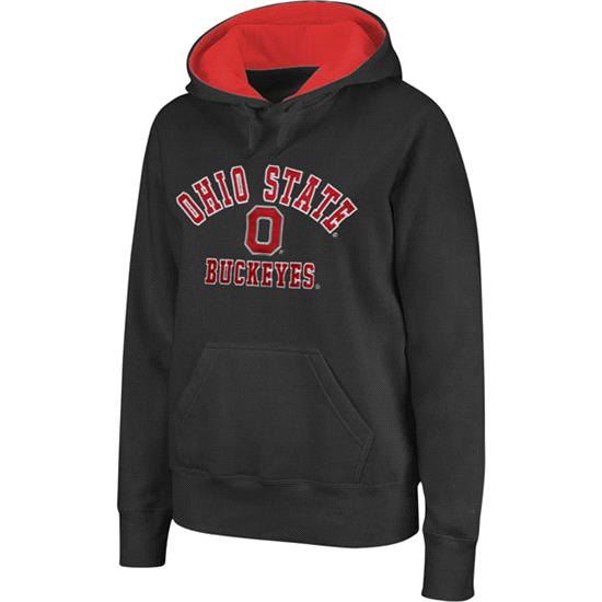 Ohio State Buckeyes Women's Hood -Charcoal