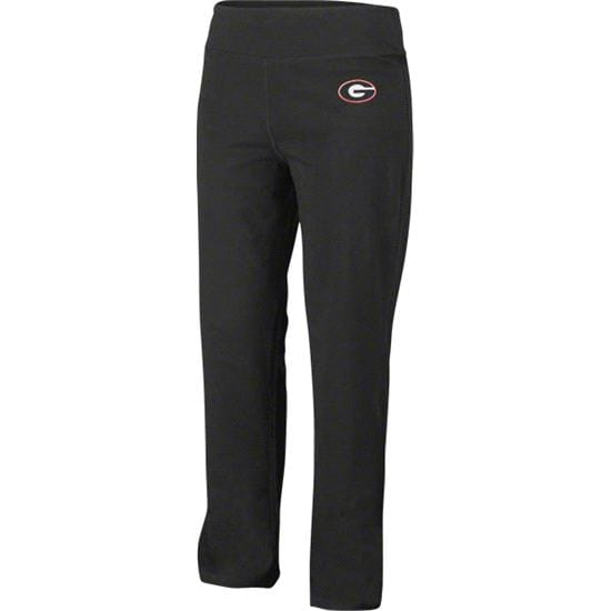 Georgia Bulldogs Women's Black Yoga Pants