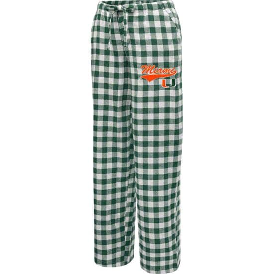 Miami Hurricanes Women's Paramount Flannel Pants
