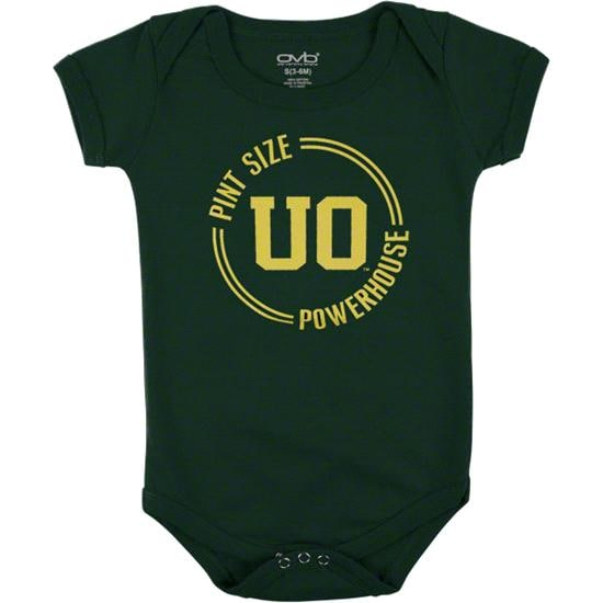 Oregon Ducks Infant Dark Green Powerhouse Pint Creeper