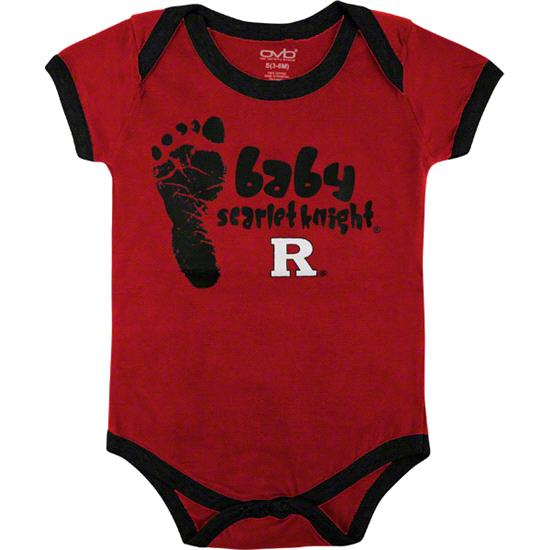 Rutgers Scarlet Knights Infant Red Game On Creeper