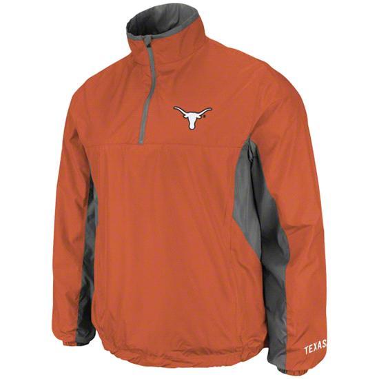Texas Longhorns Burnt Orange Gunner 1/4 Zip Jacket