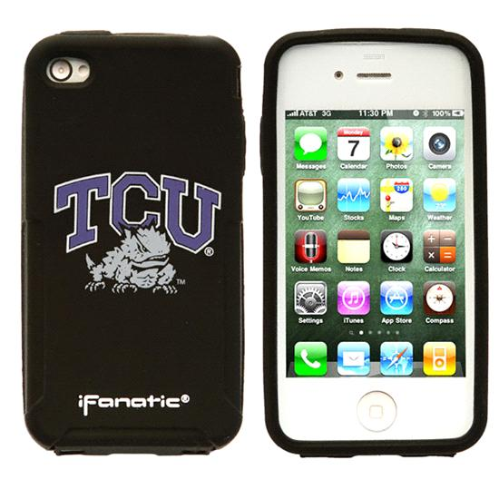 TCU Horned Frogs iPhone 4/4S Mascot Silicone Case