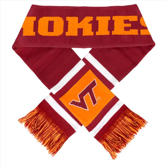Virginia Tech Hokies Stripe Scarf