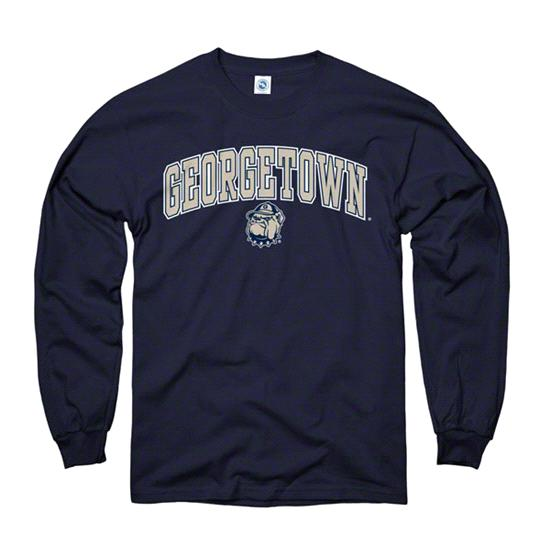 Georgetown Hoyas Youth Navy Perennial II Long Sleeve T-Shirt
