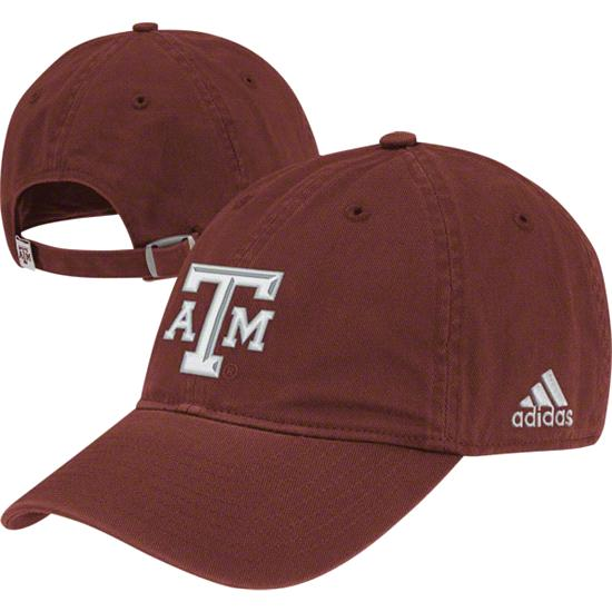 Texas A&M Aggies adidas Maroon Slouch Adjustable Hat