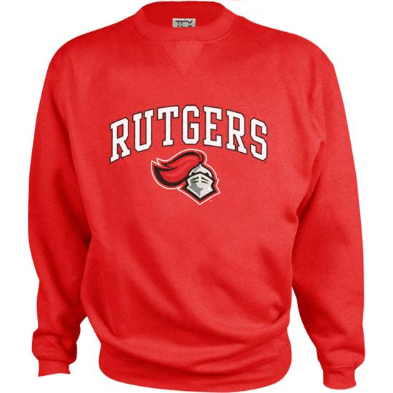 Rutgers Scarlet Knights Perennial Crewneck Sweatshirt