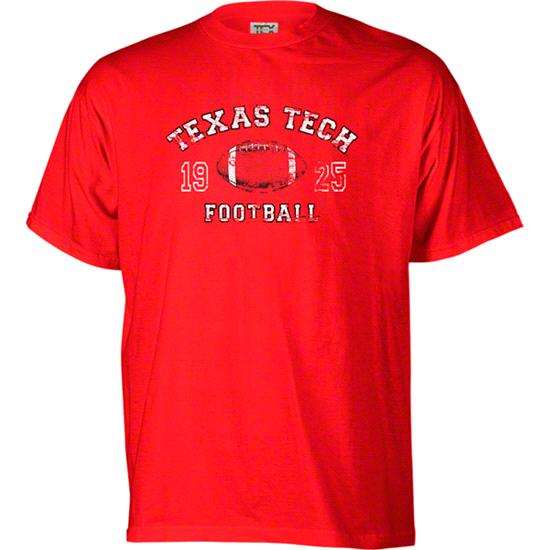 Texas Tech Red Raiders Legacy Football T-Shirt