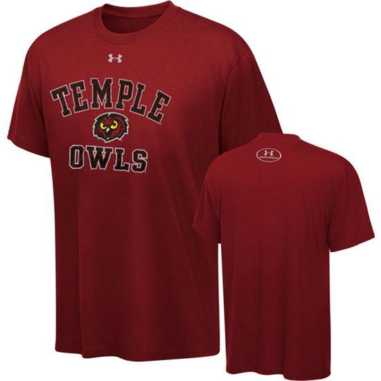 Temple Owls Essential Tech T-Shirt