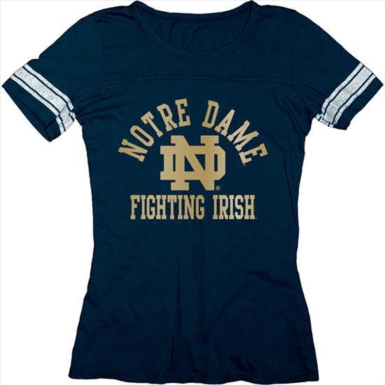 Notre Dame Fighting Irish Women's Empty Ring Spun Jersey T-Shirt