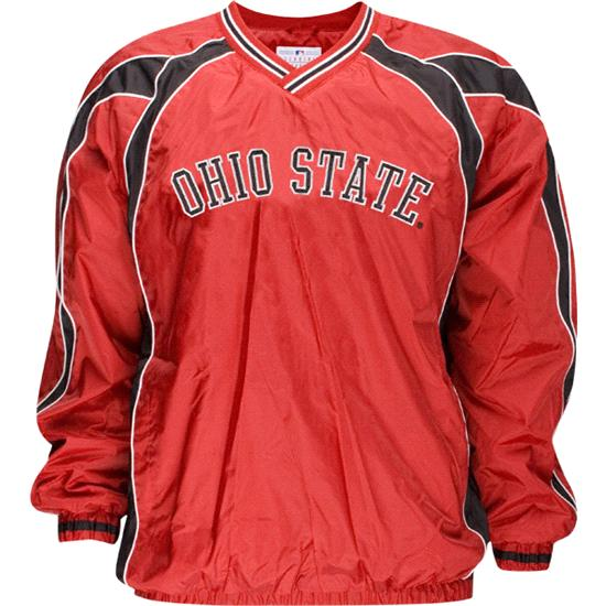 Ohio State Buckeyes Youth Lightweight V-Neck Pullover Jacket
