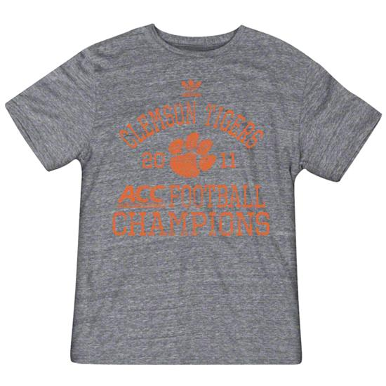 Clemson Tigers adidas 2011 ACC Conference Football Champions Finest Tri-Blend T-Shirt