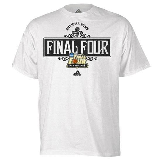 College Basketball adidas 2012 NCAA Final Four Tournament Street Sign T-Shirt