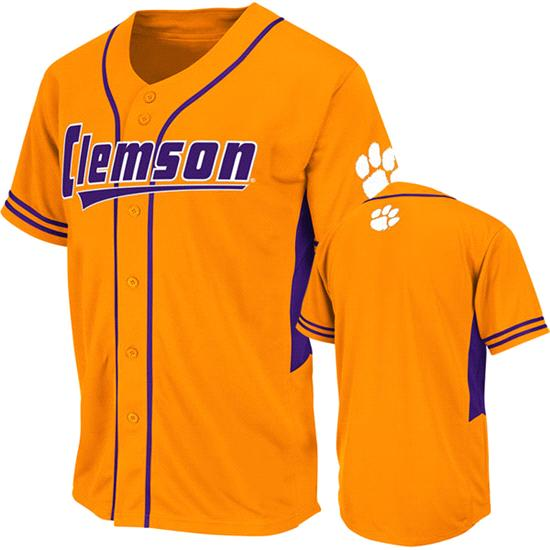 Clemson Tigers Orange Youth Bullpen Baseball Jersey