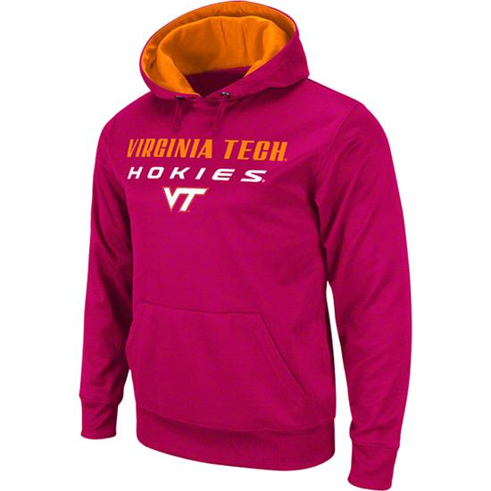 Virginia Tech Hokies Maroon Bootleg Hooded Sweatshirt