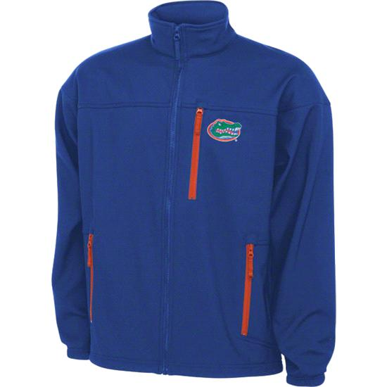 Florida Gators Blue Columbia Give 'Em 6 Softshell Jacket