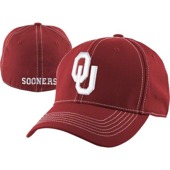 Oklahoma Sooners Cardinal Endurance Flex Hat