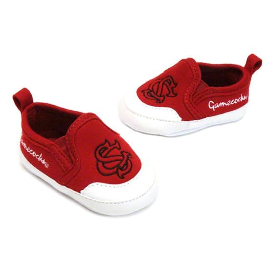 South Carolina Gamecocks Cardinal Baby Prewalk Shoe